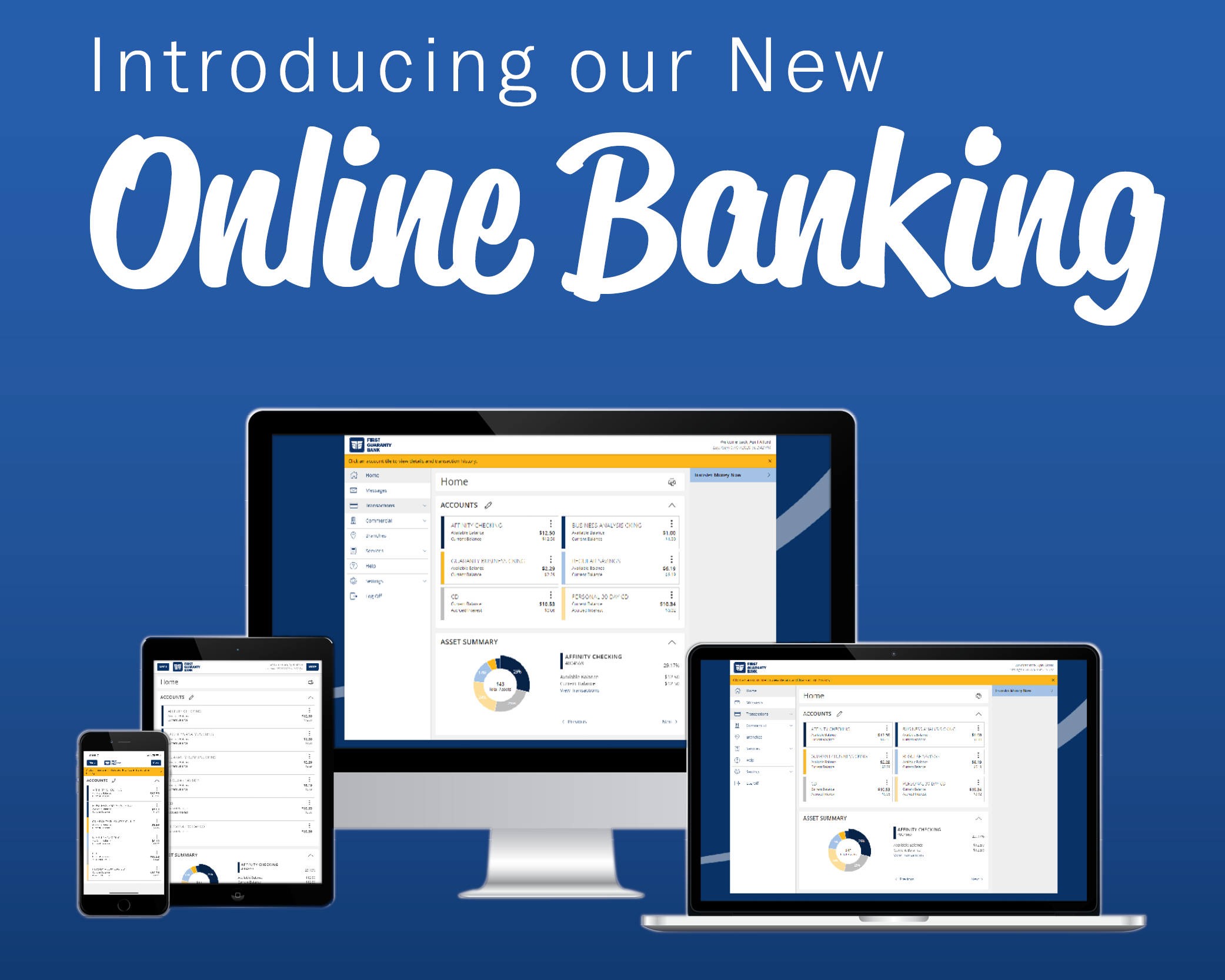 New Online Banking Experience