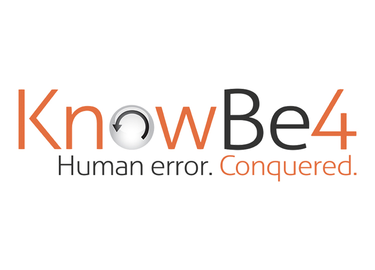 Know Be4 Logo with Orange and Black Text